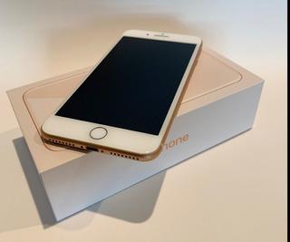 iPhone 8 Plus Gold 256gb Desbloqueado Com Garantia Novo