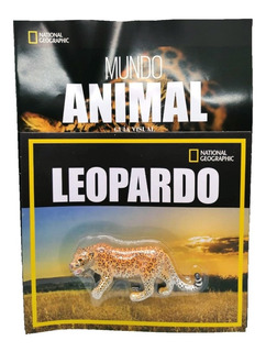 Mundo Animal National Geographic Nº 12 Leopardo