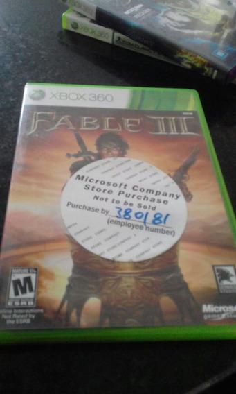 Fable 3 Xbox 360 One Semi Novo Original Midia Fisica