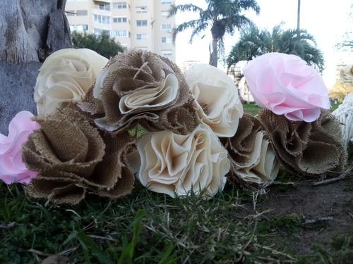 Flores De Tela - Decoracion