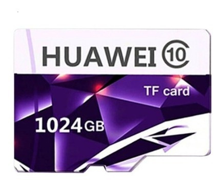 Cartão De Memória Huawei 1tb Tf - Classe 10 - Internacional