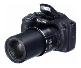 Câmera Fotográfica Semi Profissional Canon Sx530 Hs