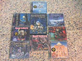 Coleccion Cd Dvd Iron Maiden. Usados En Perfecto Estado