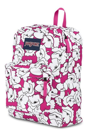 Mochila Jansport De 25 Lts. Super Break (cyber Pink Bloc)