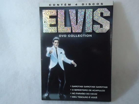 Dvd Elvis Presley Collection [4 Filmes Em 4 Discos]