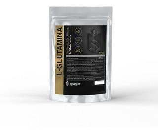 L- Glutamina 500g - Importada 100% Pura