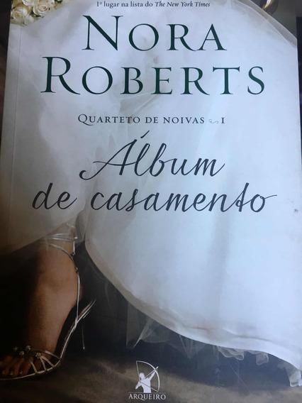 Livro Álbum De Casamento - Nora Roberts