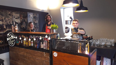 Barras Móviles Libre Bebidas Tragos Catering Fiestas Eventos