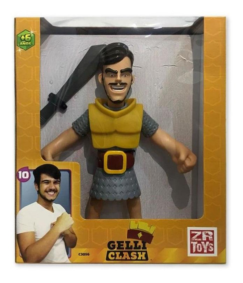Boneco Youtuber Gelly Clash C3056 Zr Toys S/l