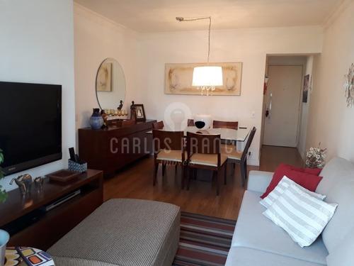 Dois Dormitórios Com Terceiro Opcional No Morumbi - Cf32953