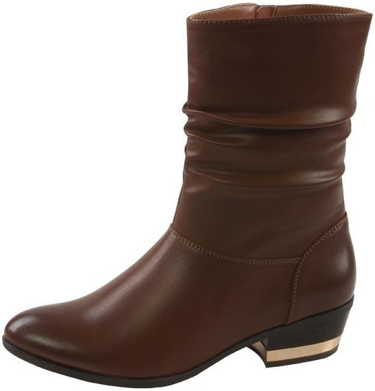 Detalle Metalizado Dorado Zapato De Calidad Para Mujer Folk
