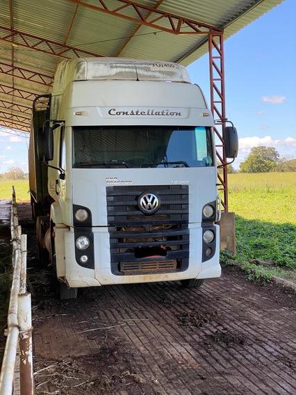 Caminhão Vw 25320 6x4 + Carreta Boiadeira Randon 1986 17mts