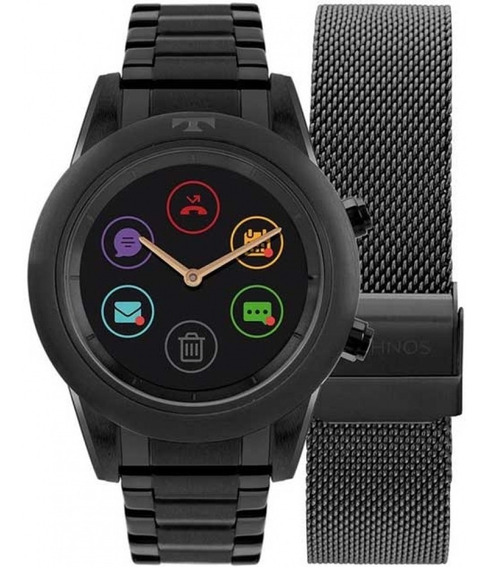 Relógio Technos Smartwatch Connect Duo P01ad/4p Bluetooth