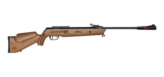 Rifle Quetzalcoatl Np Barniz Cal. 5.5 + Mira 3-9x40 Mendoza