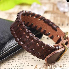 Bracelete De Couro - Unissex