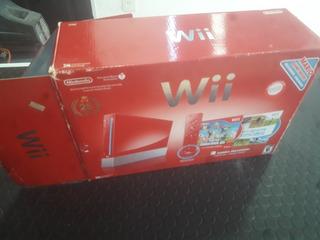 Nintendo Wii En Caja Red