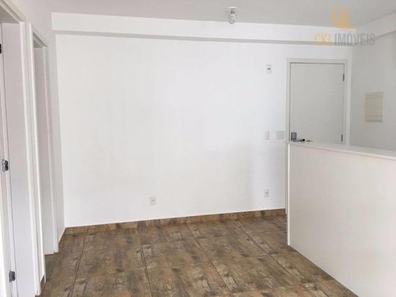 Apartamento Com 1 Dormitório Para Alugar, 40 M² Por R$ 1.600,00/mês - Brás - São Paulo/sp - Ap0532