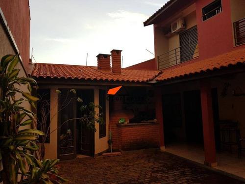 Casa Com 3 Dormitórios À Venda, 160 M² Por R$ 448.000,00 - Parque Dos Lagos - Ribeirão Preto/sp - Ca1564