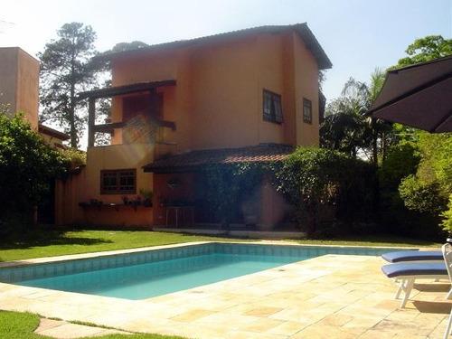 Casa Residencial À Venda, Miolo Da Granja Viana, Cotia - Ca3823. - Ca3823