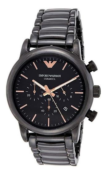 Relógio Emporio Armani Ar1509 Dress Black
