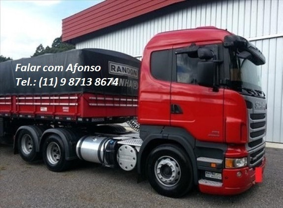 Scania 440 Ano 2013 Com Carreta Randon Ls 2015