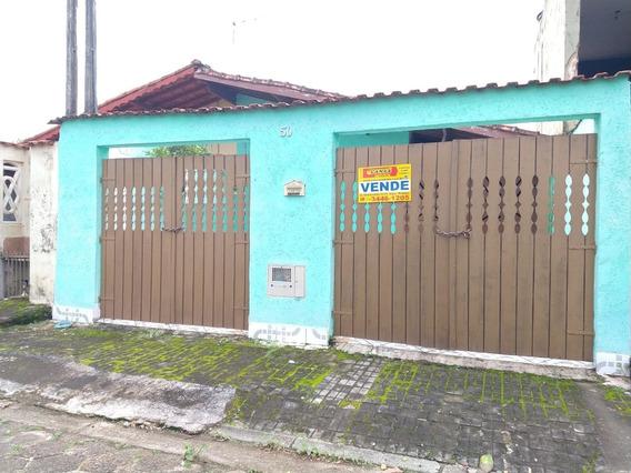 Casa Na Praia Com 3 Dormitórios, Mongaguá Ref: 7757 C