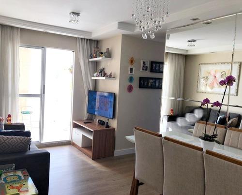 Imagem 1 de 14 de Apartamento Shop Club 61m² 3 Dormitórios 1 Suite 1 Vaga