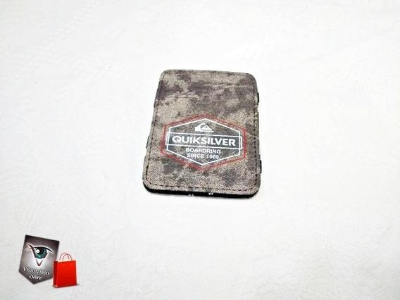 Carteira Mágica / Porta Cartão Quiksilver Masculina Promoção