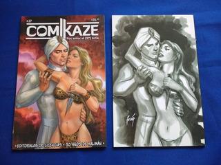 Revista Comikaze # 27 - Portada A - 50 Años De Kalimán