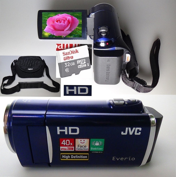 Filmadora Jvc Everio Gz-hm30 Hd Grava A Passagem Do Tempo