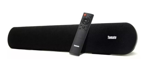 Soundbar 2.0 Tomate Mts 2019 Bluetooth Entrada Óptica