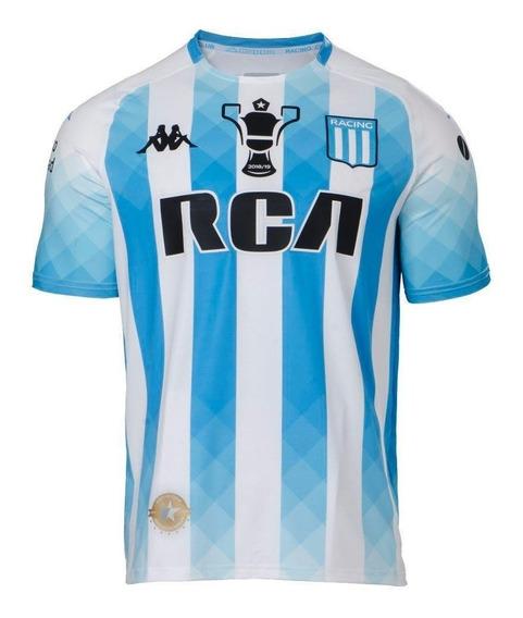 Camiseta Racing Club Kappa Titular Agregale Parche Campeon !