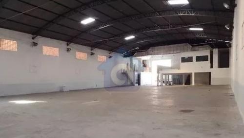 Imagem 1 de 4 de Galpão Com 6 Vagas De Garagem !  - Tw11398