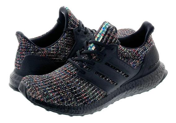 adidas Ultraboost Triple Black Multi 39 40 Br Novo Original