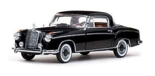 1958 Mercedes Benz 220se Preto - Escala 1:18 - Sun Star