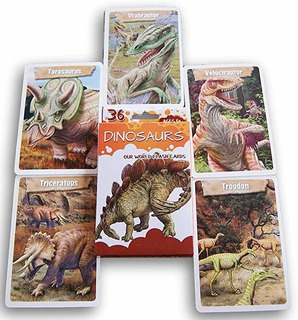 Bendon Dinosaurios Flash Cards