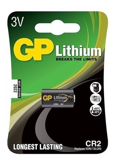 Bateria De Photo 3v Cr2 Gp Kit 05