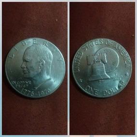 Moeda Grande - Americana - One Dollar
