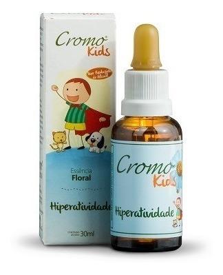 Cromo Kids Hiperatividade 30ml - Cromo Florais