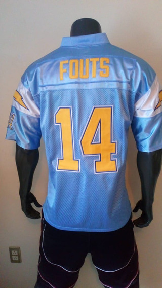 super popular 7bc7c 7bbf3 Jersey Dan Fouts 14 San Diego Chargers Throwback 48 en ...