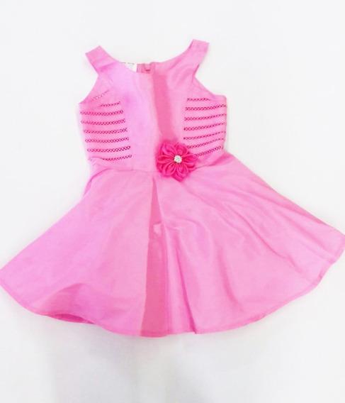Vestido Con Flor Carolina Estilo 761120 #2 A La #10 R
