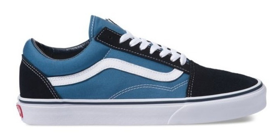 Zapatillas Vans Mod Old Skool!!! 100% Original! Navy/white!