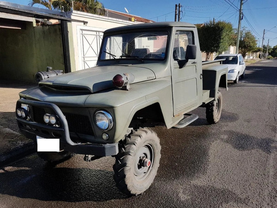 Willys Overland Pickup F75 Totalmente Reformada Ac Trocas