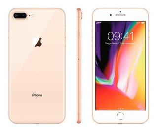 Celular iPhone 8 Plus Dourado - Tela 5.5