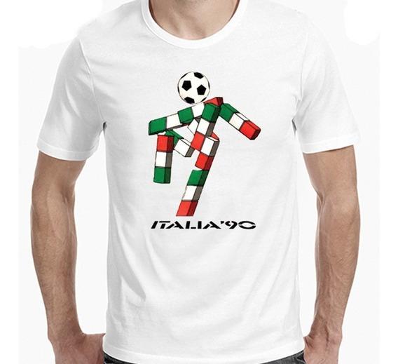 Remeras Mundiales   Italia ´90  de Hoy No Pasa 