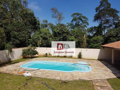 Chácara Com 3 Dormitórios À Venda, 1500 M² Por R$ 895.700,00 - Retiro Vale Do Sol - Embu Das Artes/sp - Ch0001