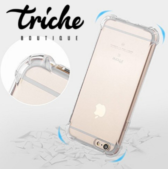 Funda Case Transparente Antishock iPhone 6 iPhone 6s