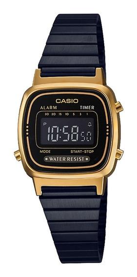 Casio Vintage Digital Feminino La670wegb-1bdf Original