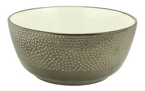 Ensaladera Ceramica Peltre 25x11 - Kromacolor