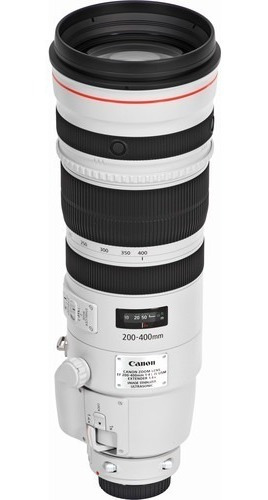 Canon Lente Ef 200-400mm F/4l Is Usm Com Extender 1.4x